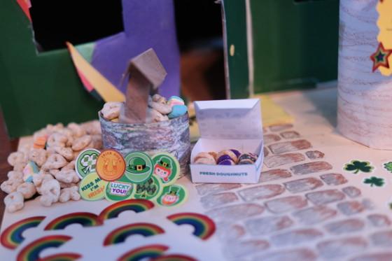 A Box of Mini Doughnuts
