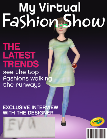 My Virtual Fashion Show Cover
