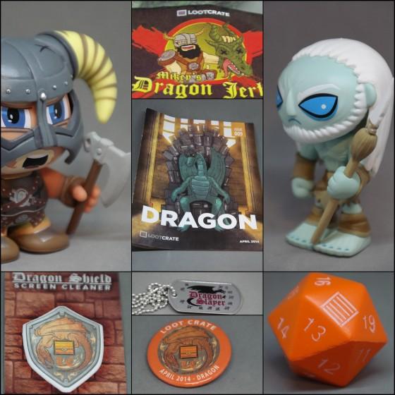 Dragon, April's Loot Crate