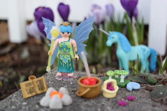 Playmobil Fairies and Unicorns Set