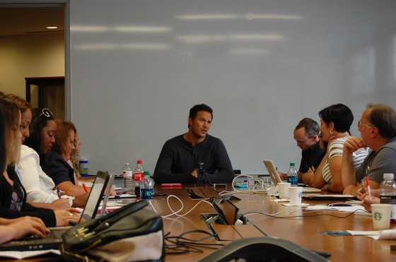 Chris Pratt Interviewed by Bloggers
