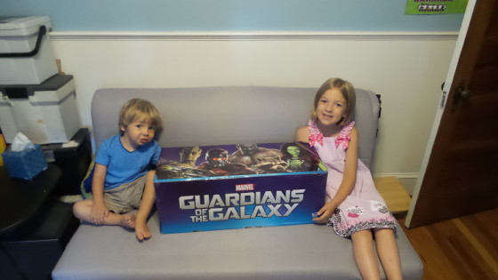Our Giant Box of Guardians of the Galaxy Toys