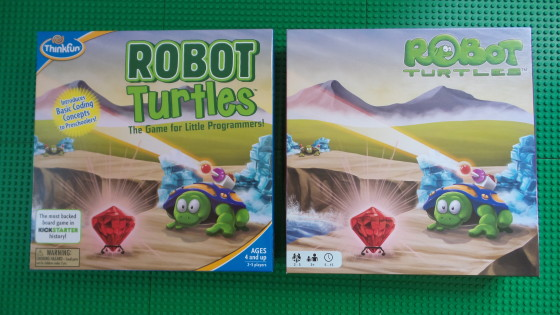 ThinkFun Robot Turtles vs Kickstarter Robot Turtles