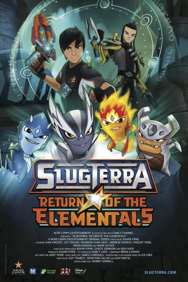 SlugTerra Return of the Elementals poster