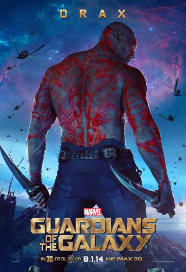 Drax Character Poster