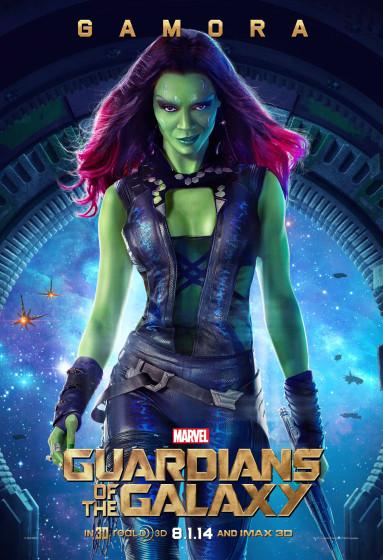 Gamora Character Poster