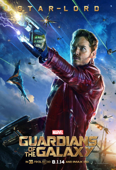 Star-Lord Character Poster