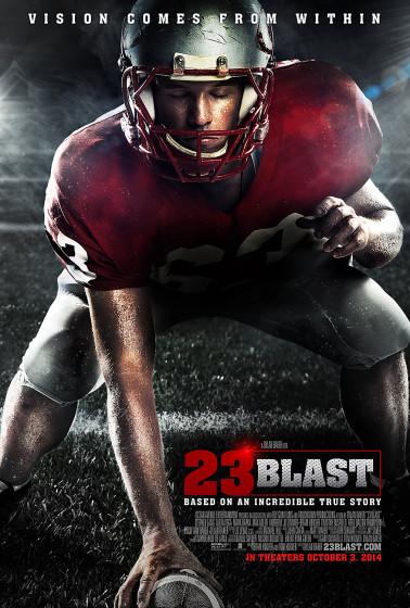 23 Blast Official One Sheet