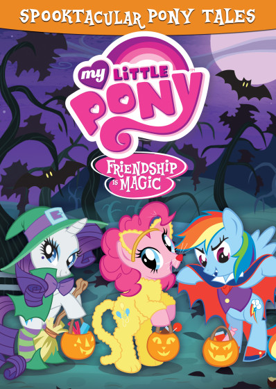 My Little Pony Spooktacular Cover Art