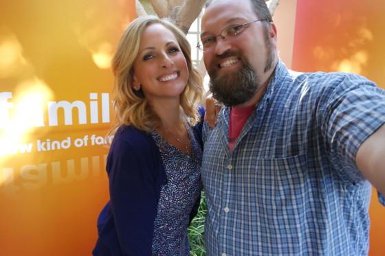 Selfie with Marlee Matlin