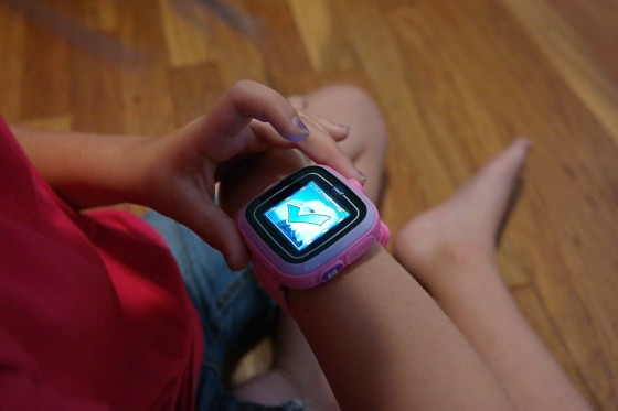 Kids can Play games on the Kidizoom Smartwatch