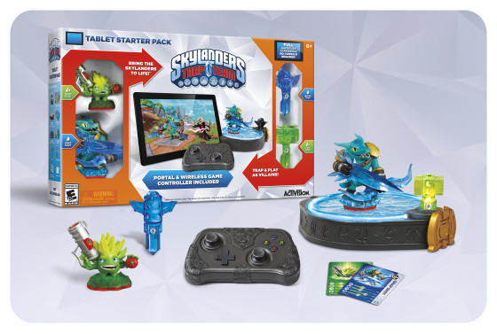 Skylanders Trap Team Tablet Edition with Bluetooth Portal and Bluetooth Controller