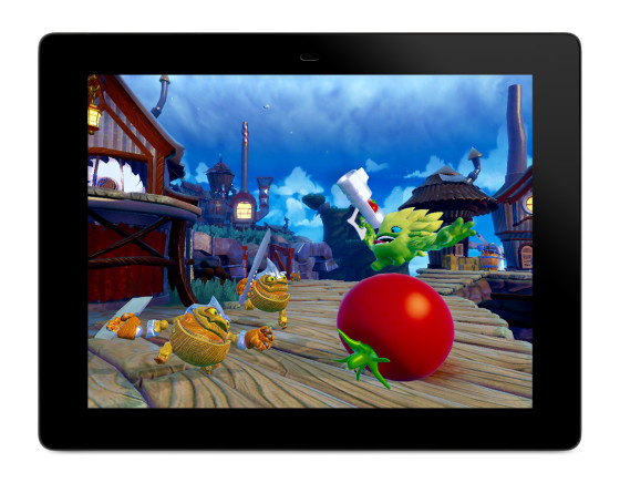 Skylanders Trap Team Tablet Food Fight