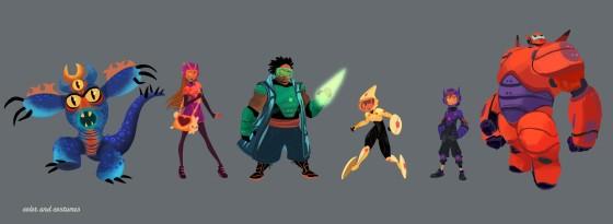 BIG HERO 6 - Hero 6 Costumes