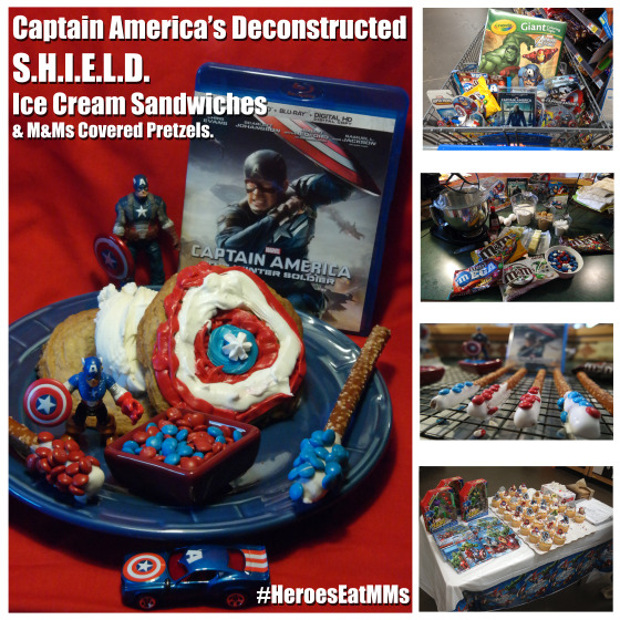 Heroes Eat M&Ms with Captain America the Winter Soldier - #HeroesEatMMs #CBias #CollectiveBias #Shop