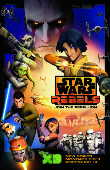 Star Wars Rebels Collage