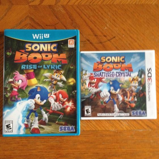 Sonic Boom Games