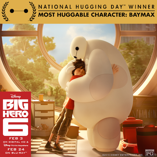 Big Hero 6 Baymax Huggable Award