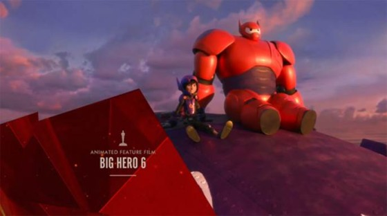 Big Hero 6 Oscar Winner for Best Animated Feature