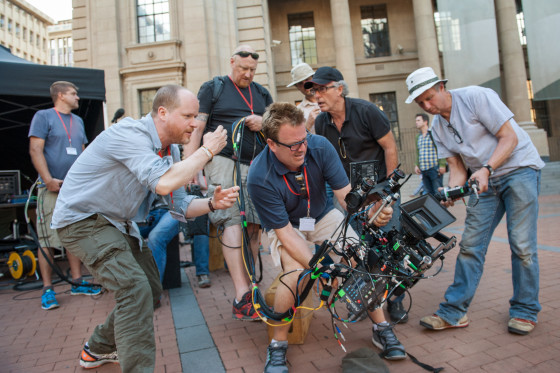 Joss Whedon working on Age of Ultron Set