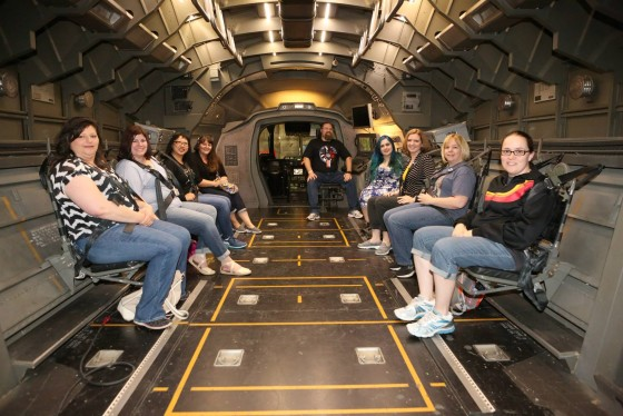 Got to ride in a Quinjet while touring the set of Marvel's Agents of S.H.I.E.L.D.