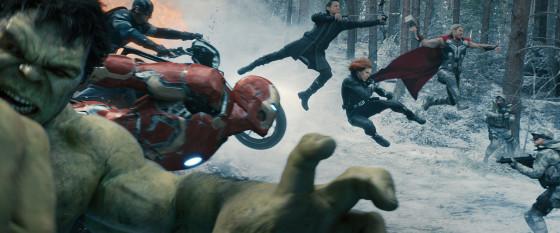 Avengers: Age Of Ultron - Team Shot