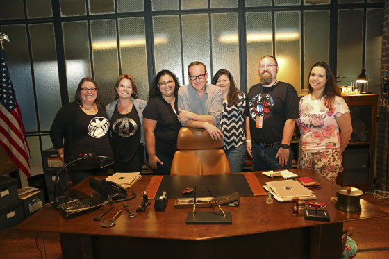 MARVEL'S AGENTS OF S.H.I.E.L.D. - Bloggers event (ABC/Adam Taylor) CLARK GREGG