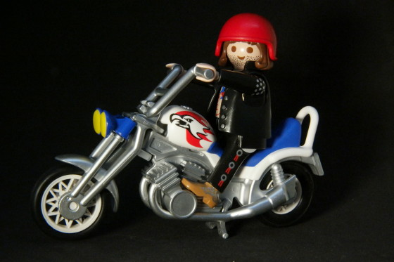 Playmobil - Motorcycle - Eagle Cruiser
