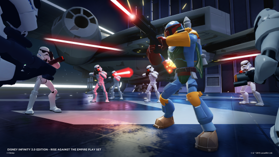 Boba Fett in the Rise Against the Empire Play Set - Screen Shot 2