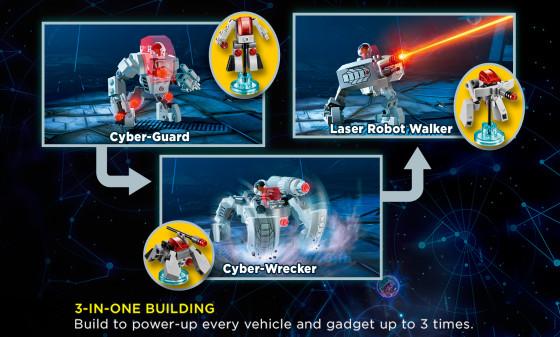DC Cyborg Cyber-Guard Rebuilds