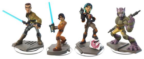 Star Wars Rebels Figures - Disney Infinity 3.0