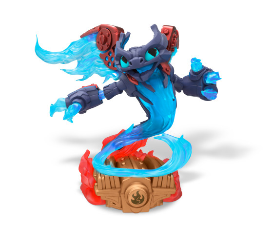 Skylanders SuperChargers- Spitfire Fire Element SuperCharger - Toy Image