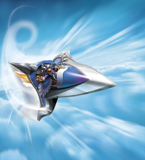 Skylanders SuperChargers - SkySlicer - Sky Type Air Element Vehicle - illustration