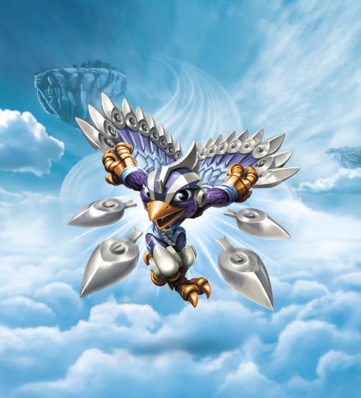 Skylanders SuperChargers - Stormblade - Air Element SuperCharger Illustration