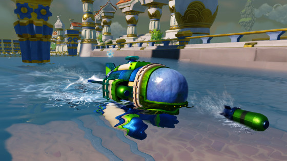 Skylanders SuperChargers - DiveBomber - Sea Type - Water Element - Vehicle - Screenshot