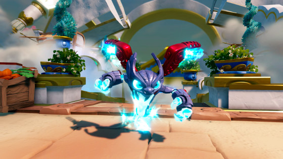 Skylanders SuperChargers- Spitfire Fire Element SuperCharger - Screen Shot