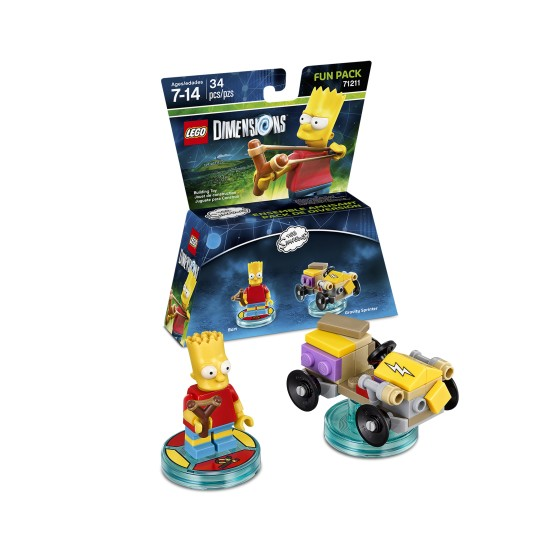 The Simpsons Fun Pack with Bart Simpson