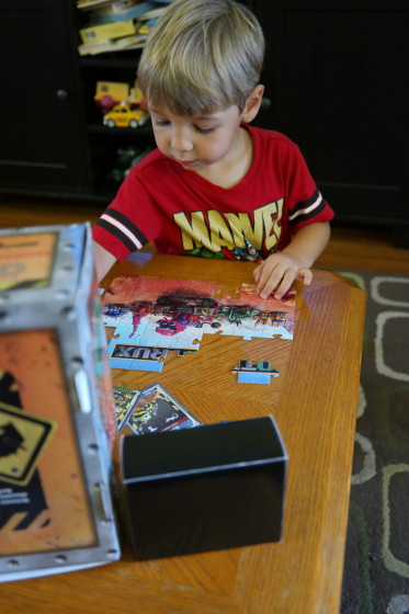 Andrew Loves the DinoTrux  Puzzle