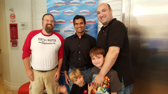From Left To Right Drew, Guha Bala, Adam Cohen, Then first row Andrew and Marc