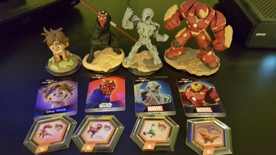 New Disney Infinity 3.0 Figures and Power Discs