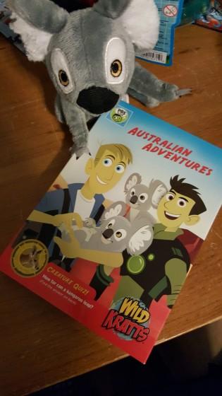 "THE NEW WILD KRATTS DVD ""AUSTRALIAN ADVENTURES"""