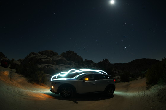 An Electric Evening with the Mazda CX-3