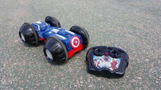 XPV Avengers Rollover Rumbler - Captain America Side