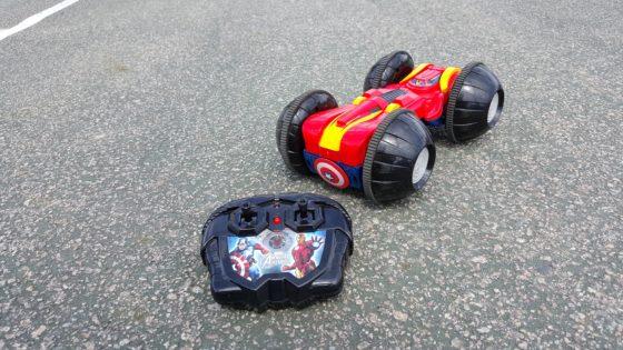 XPV Avengers Rollover Rumbler - Iron Man Side