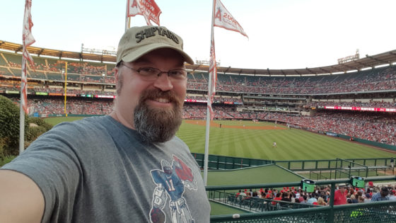 Catching the Red Sox at Angel Stadium