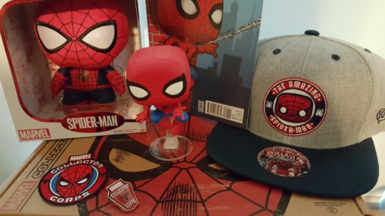 Unboxing the Marvel Collector Corps Spider-Man Box