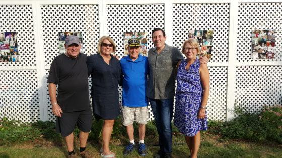 Grandpa Rick and his kids