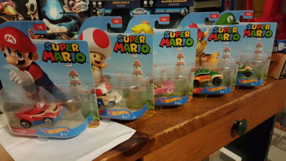 MY Super Mario Hot Wheels Finds