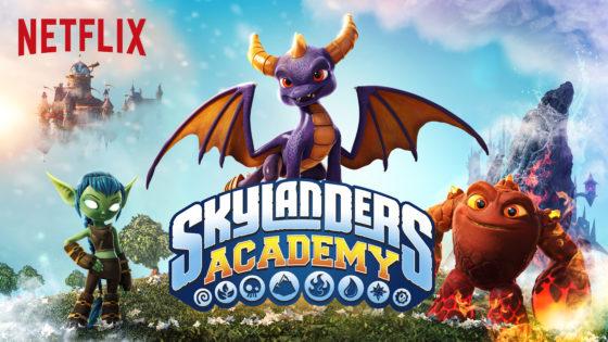 Skylanders Academy Title