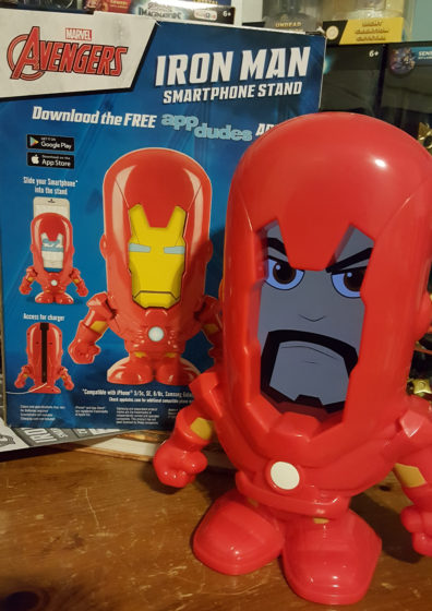 Iron Man Smartphone Stand